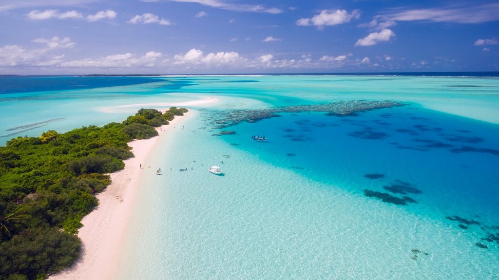 reserve a vacation to the Maldives